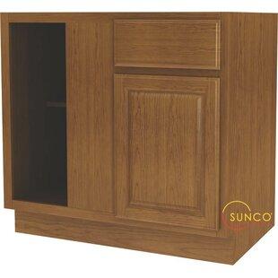 3658 x 45 corner kitchen base cabinet - Corner Kitchen Cabinet