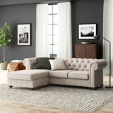 Quitaque Left Hand Facing Sectional by Greyleigh™
