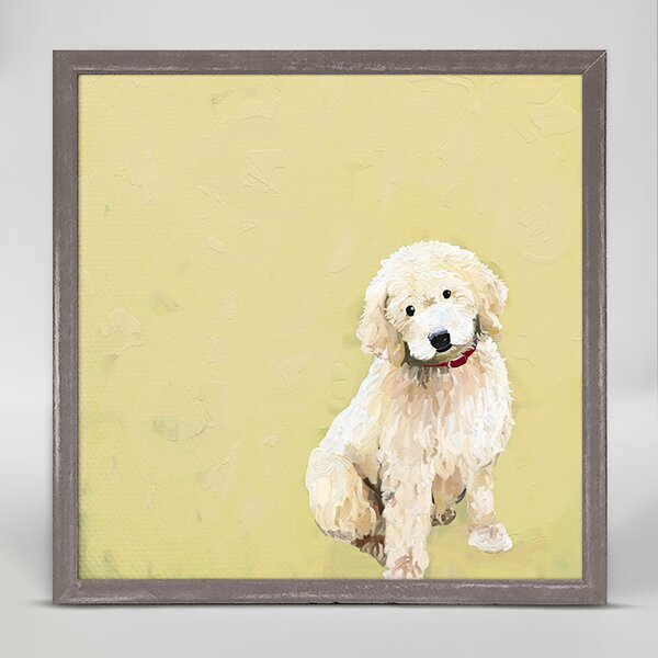 Golden Doodle Dog Wall Art Wayfair