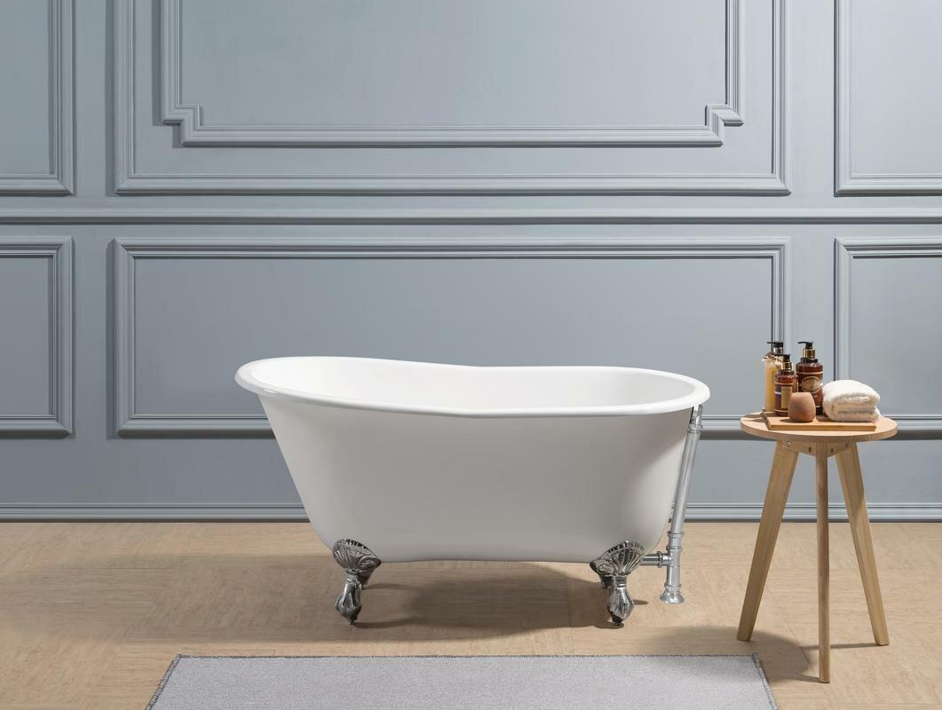 Contemporary drop in soaking bathtubs component bathtub for Cast iron tub vs fiberglass