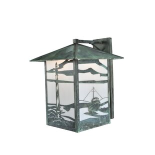 Check Prices 1-Light Outdoor Wall Lantern By Meyda Tiffany