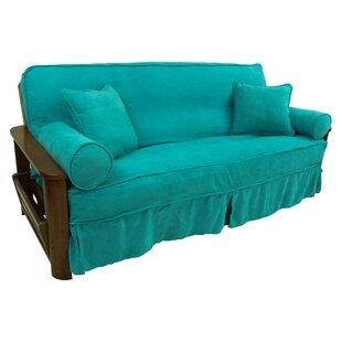 Box Cushion Futon Slipcover Set