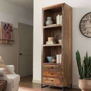 Enciso Wooden Corner Unit Bookcase 17 Stories