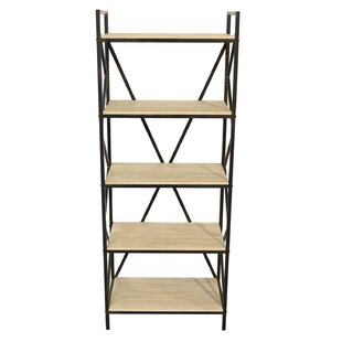 Rosalia Vertical Wood Standard Bookcase 17 Stories