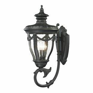 Top Reviews Santos 3-Light Outdoor Wall lantern By Astoria Grand