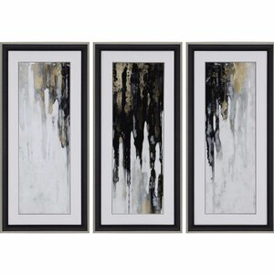Neutral Space II by Conley 3 Piece Painting Print Set by Paragon