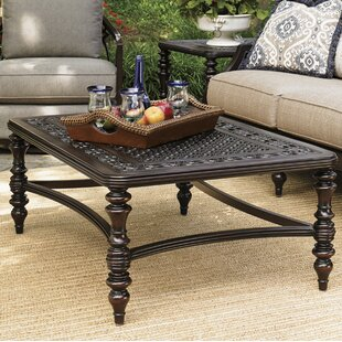 Check Prices Royal Kahala Aluminum Coffee Table By Tommy Bahama Outdoor