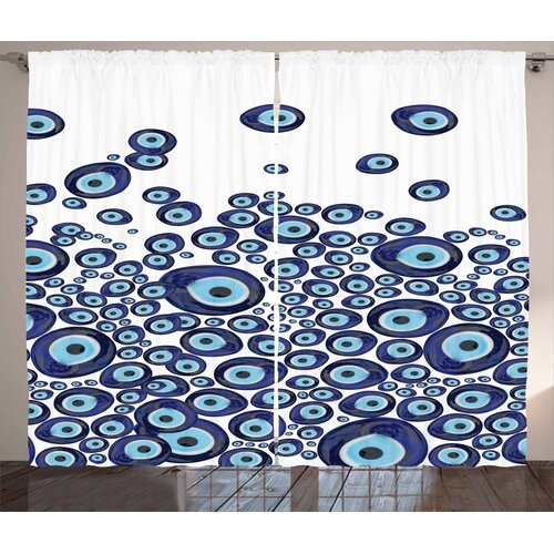 Eye Slot Pinch Pleat Blackout Thermal Curtains East Urban