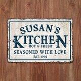 Vintage Metal Kitchen Signs | Wayfair