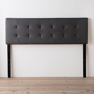 Cy Square Upholstered Panel Headboard by Andover Mills