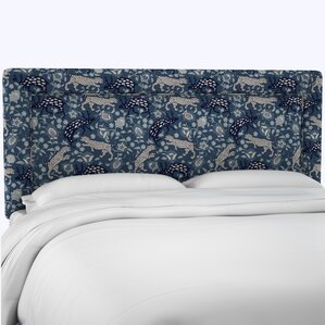 Fiesta Linen Upholstered Panel Headboard by Bloomsbury Market