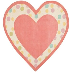 Sweet Heart Hand-Tufted Peony Area Rug