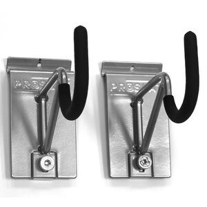 Heavy Duty U Shape Bike Slatwall Hooks (Set of 2)