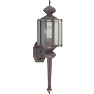 Best Reviews 1-Light Outdoor Sconce By Home Concept Inc