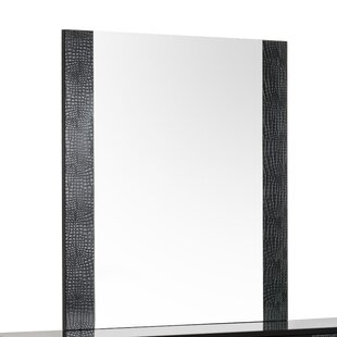 Orren Ellis Camron Contemporary Rectangular Dresser Mirror
