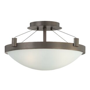 Top Brands of Suspended 3-Light Semi Flush Mount By George Kovacs by Minka
