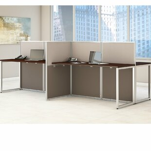 Office workstation desk Commercial Easy Office 60w Person Straight Desk Open Office Global Sources Office Workstations Benching Youll Love Wayfair
