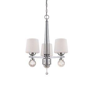 Astoria 3-Light Shaded Chandelier