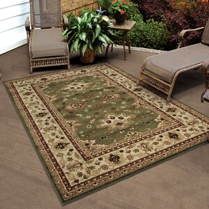 Montrose Green Indoor/Outdoor Area Rug