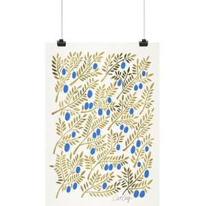 'Olive Branches' Graphic Art Print by East Urban Home