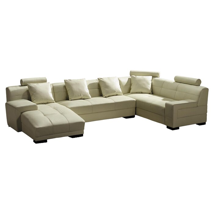 Modern Sectional Sofas Houston: Houston Leather Sectional & Reviews