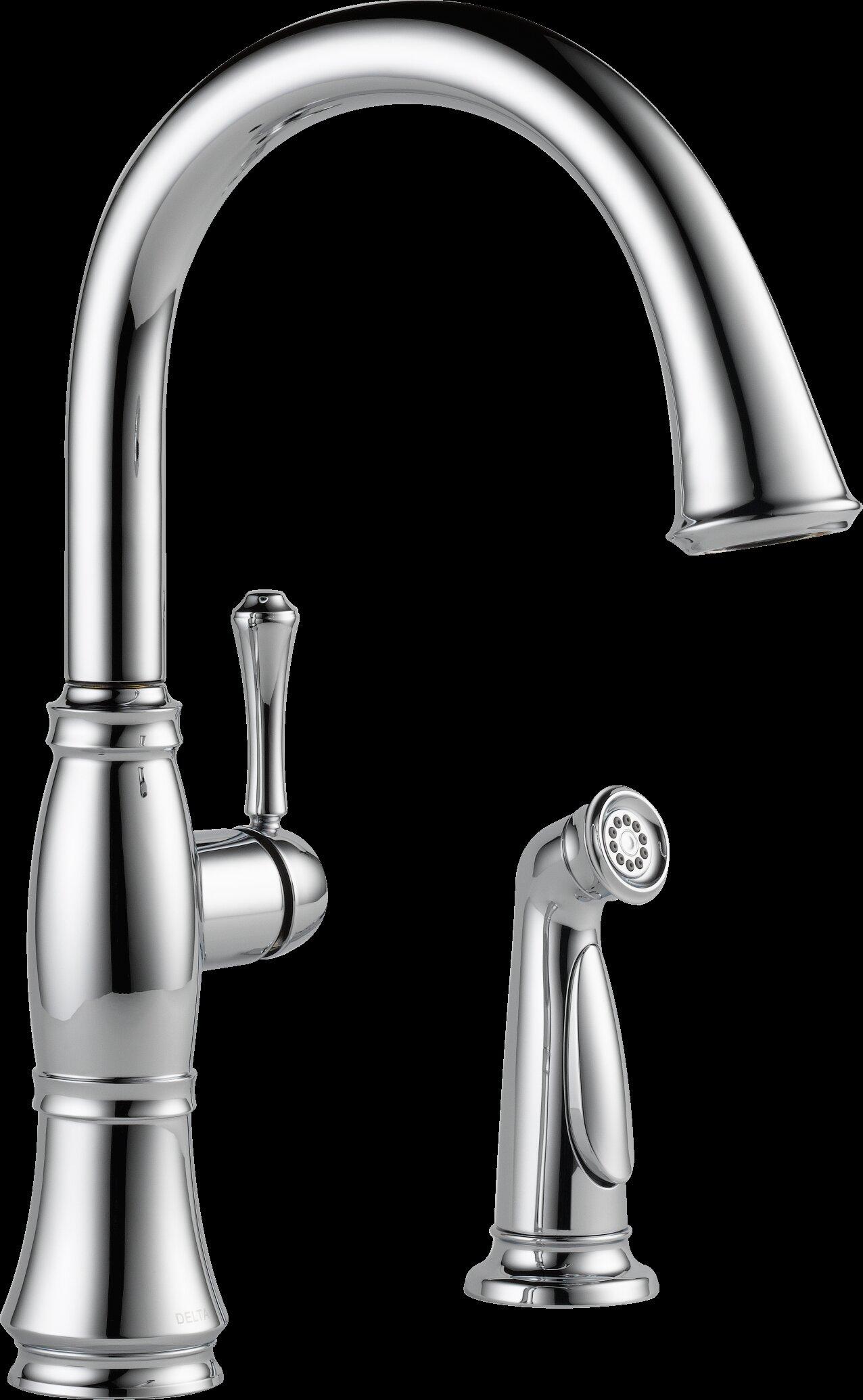 Delta Cidy Kitchen Faucet With Side Sprayer - Kitchen Appliances ...