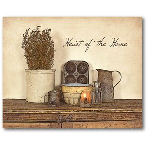 'Heart of the Home' Graphic Art on Wrapped Canvas by August Grove