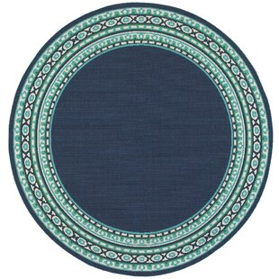 Round Outdoor Rugs You\'ll Love | Wayfair