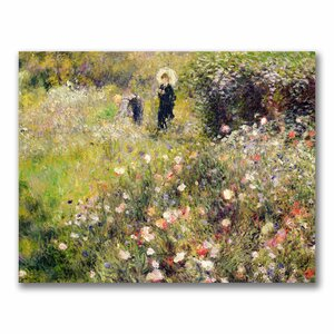 Summer Landscape by Pierre-Auguste Renoir Painting Print on Wrapped Canvas by Trademark Fine Art