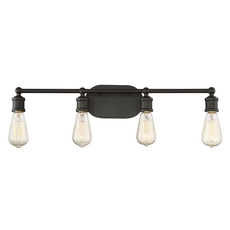 4 light vanity led agave 4light vanity light reviews birch lane
