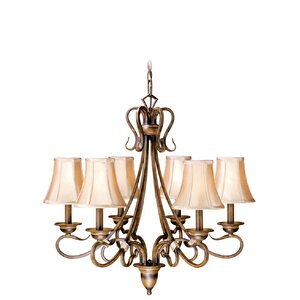 Berkeley 6-Light Shaded Chandelier