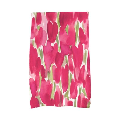 August Grove Holte Floral Hand Towel August Grove Color Red From Wayfair North America Shefinds