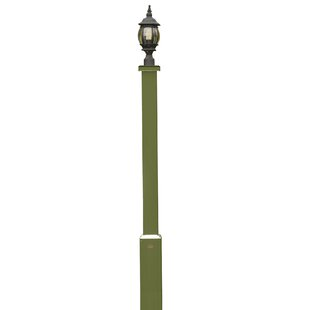 Compare prices Romero 67 Lamppost By Charlton Home