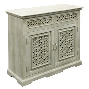Perez 2 Door and 2 Drawer Accent Cabinet