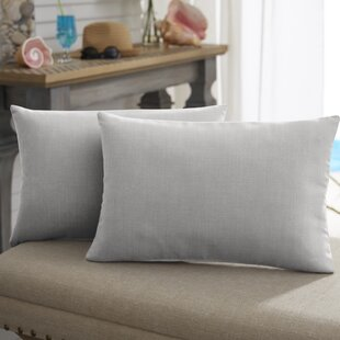 Sunbrella Woven Outdoor Indoor Ethnic Pillow in Tan Geometric Outdoor Lumbar Pillow in Beige.