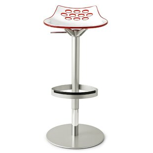 Jam Adjustable Height Swivel Bar Stool