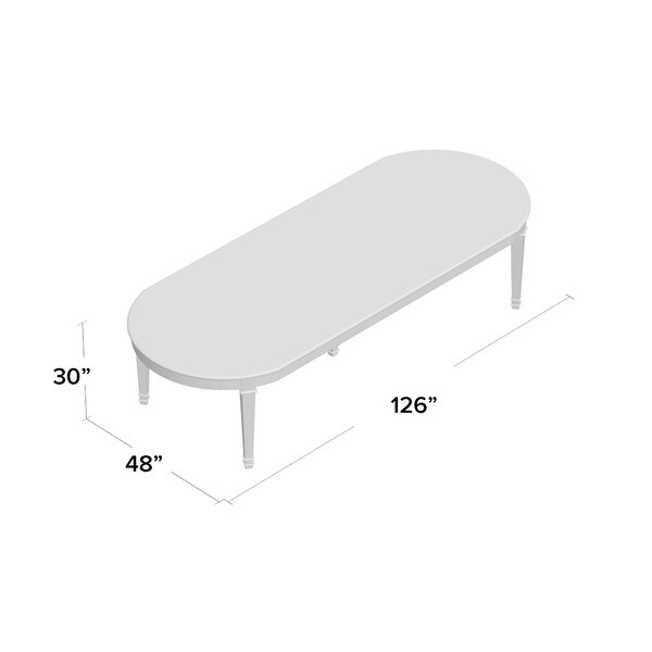 Lillian August Templeton Extendable Dining Table Perigold
