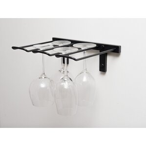 Stemware Wall Mounted Wine Glass Rack by VintageView