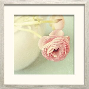 Vintage Peony I by Sarah Gadner Framed Photographic Print by Star Creations