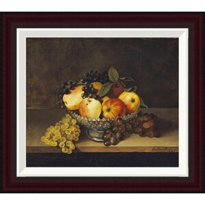 Still Life With Crystal Compote by Rubens Peale Framed Painting Print by Global Gallery