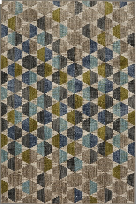 Metropolitan Gray/Blue Area Rug
