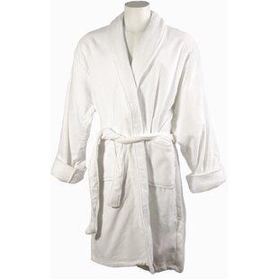 Men s 100% Cotton Terry Cloth Bathrobe 0a6008392