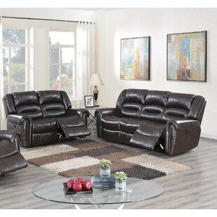 Beverley 2 Piece Reclining Living Room Set by Red Barrel Studio®