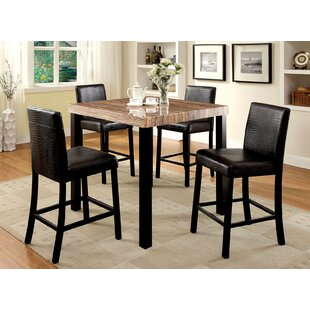 Dorey 5 Piece Counter Height Dining Set By Ivy Bronx