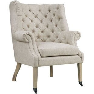 Read Reviews Chart Wingback Chair ByModway