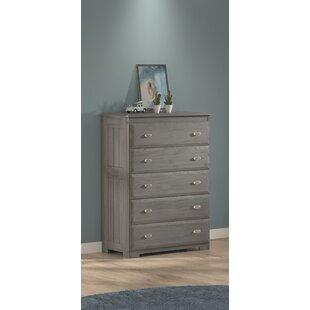 Buy luxury Boettcher 5 Drawer Standard Dresser Chest ByCharlton Home