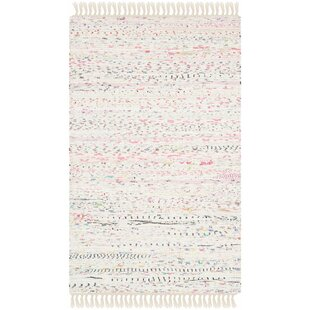 Buying Penrock Way Flatweave Cotton White/Multi Area Rug ByBeachcrest Home
