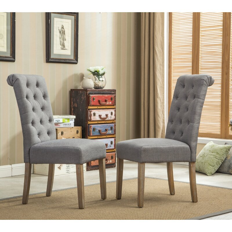 Charlotte Upholstered Dining Chair affordable home decor ideas kitchen