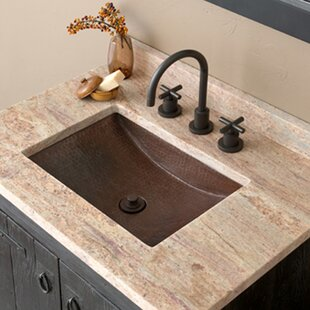 Top Reviews Avila Metal Rectangular Undermount Bathroom Sink ByNative Trails, Inc.