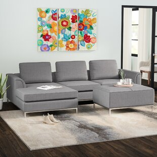 Best Choices Catlett Sectional with Ottoman By Wade Logan